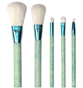 makeup brushes with custom handles light