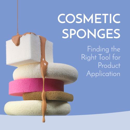 cosmetic sponges - finding the right tool for product application