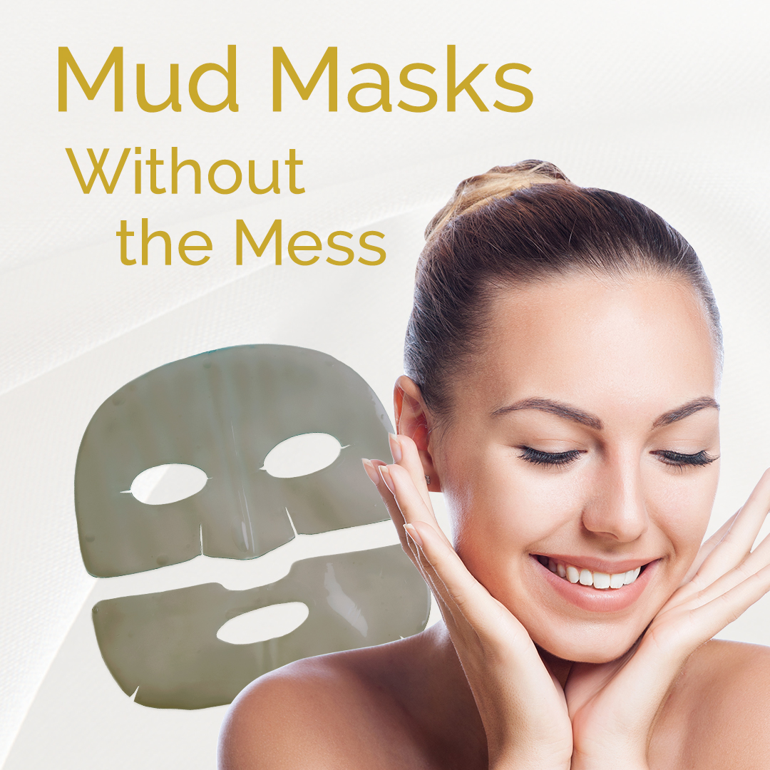 mess free mud sheet mask