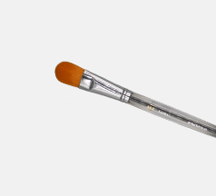 flat makeup brush
